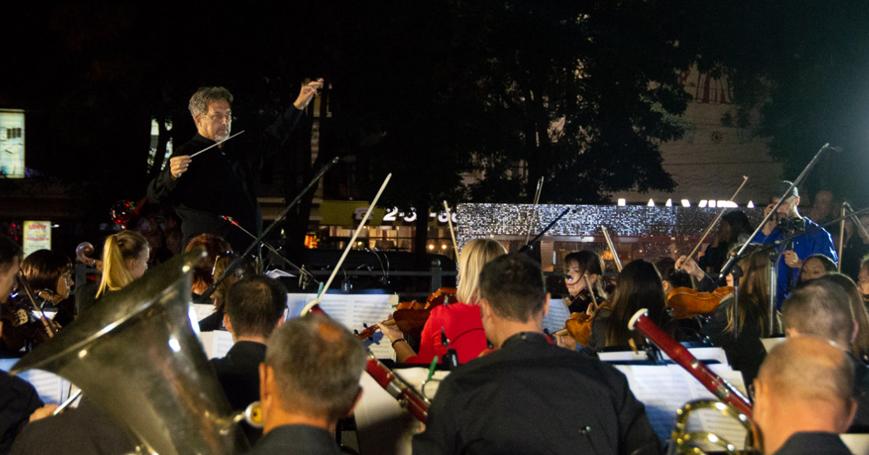 Большой концерт Государственного симфонического оркестра